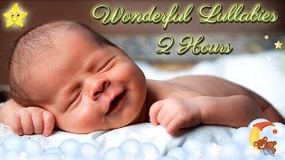 2 Hours Super Relaxing Baby Music ♥♥ Most Soothing Bedtime Lullaby No. 9 ♫♫ Cute Smiling Baby Asleep