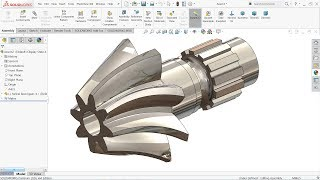 SolidWorks tutorial | Design And Assembly of Ball Bearing in
