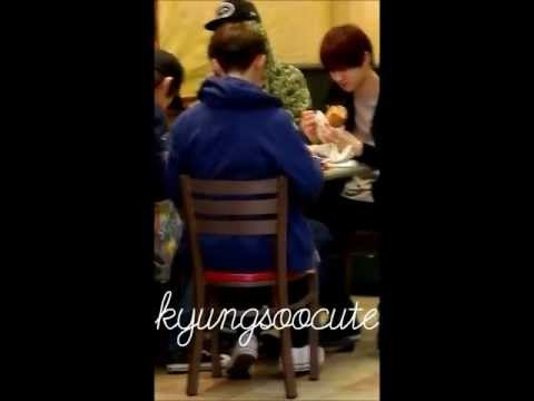 120622 EXO-K LUNCH SUBWAY LONDON