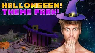 HALLOWEEN TOWN PARK! With Stacy, Lizzie, & Tiffany!