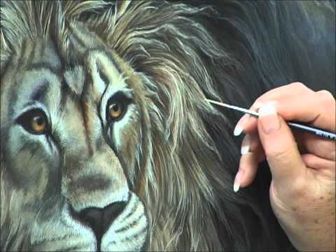Painting LionsAcrylic Painting Techniques for how to