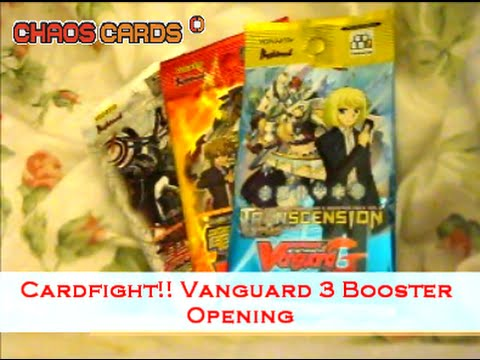 Cardfight!! Vanguard - RANDOM Sealed Booster (5 cards)