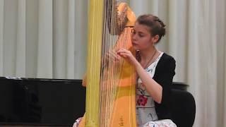 classical harp music, louis spohr - fantasy for solo harp