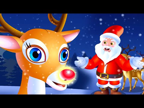 Rudolph the Red Nosed Reindeer | Christmas Song For Kids | Merry Christmas
