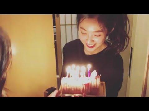 180328 Red Velvet Irene Birthday Surprise #HappyIreneDay