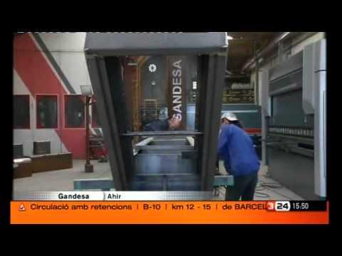Reportatge Grisverd mobiliari urbà sostenible a TV3