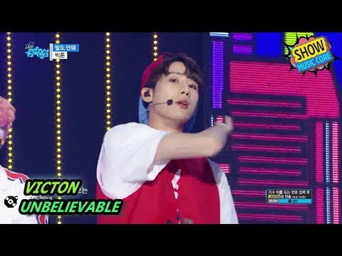 [HOT] VICTON - UNBELIEVABLE, 빅톤 - 말도 안돼 Show Music core 20170902