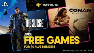 Free PlayStation Plus games for April will surge into exile