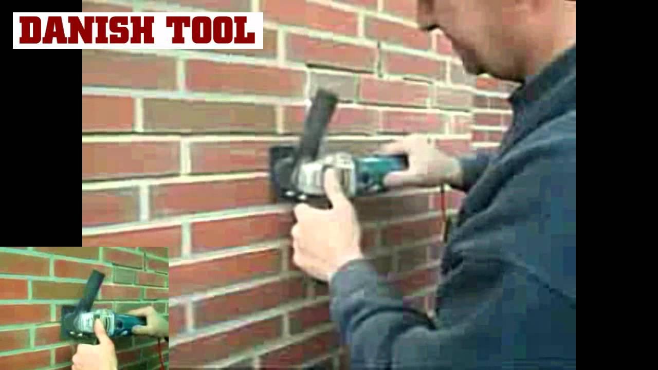 Mortar Raking Equipment From Danish Tool Youtube