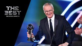 THE BEST FIFA MEN'S COACH 2016 - Claudio Ranieri WINNER