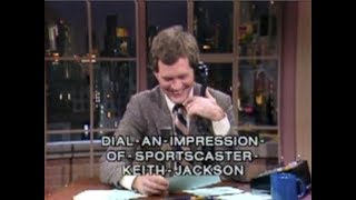 In Tribute to Keith Jackson on Late Night, 1982-89