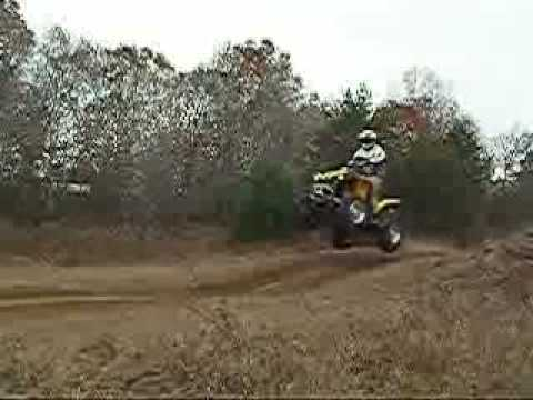 Air on the Renegade 800 - ATV jump