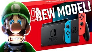 Switch Revision Drastically Boosts the Battery Life! Luigi's Mansion 3 Dated + New Joy-Cons!
