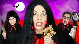 Sneaking Into VAMPIRE Masquerade Ball In Real Life - Rebecca Zamolo