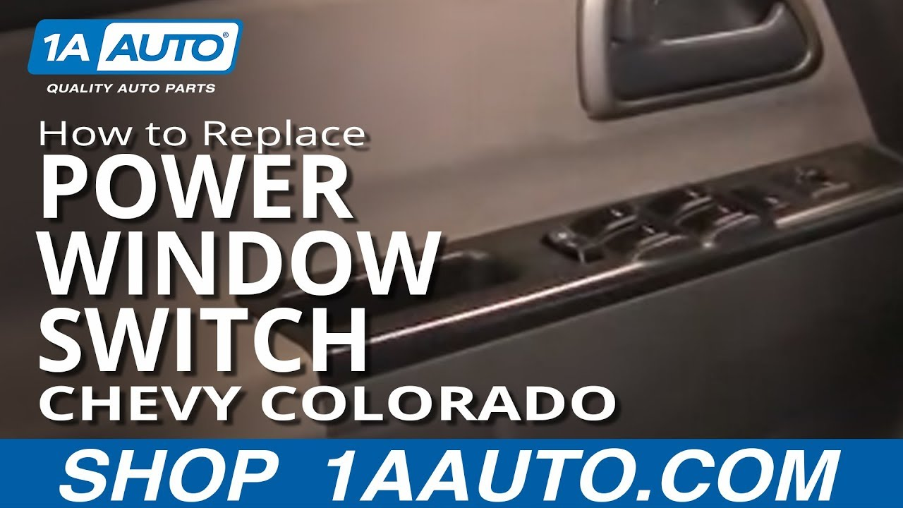 How To Install Replace Master Power Window Switch Chevy