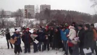 Субботник в Тимоховском овраге. 2012 г.