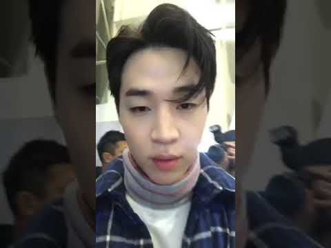 171113 Henry Lau(@henryl89) with f(x) Amber insta live