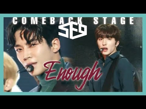 [ComeBack Stage] SF9 -  Enough  , 에스에프나인 - 예뻐지지 마 Show Music core 20190223