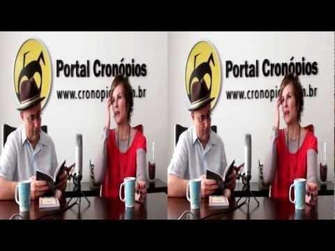 Portal Cronópios - Videocast com Stella Florence