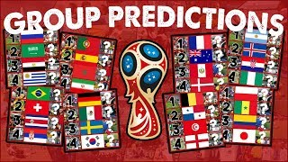 2018 FIFA World Cup Group Predictions And Analysis