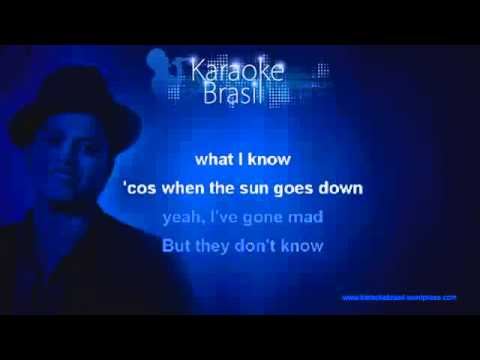 Baixar Bruno Mars - Talking To The Moon -Karaoke