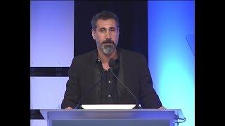 Serj Tankian talks about Chris Cornell - HRW's Annual Dinner 2017