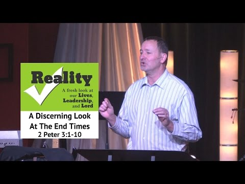 Nov 2, 2014  Reality Check Series:  A Discerning Look at the Last Days, Pastor Kevin Cavanaugh