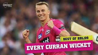 Every wicket from English allrounder Tom Curran's campaign | KFC BBL|09