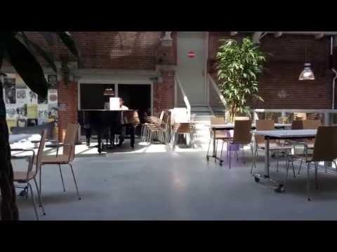 Live pianomuziek OBA De Hallen