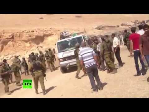 Солдаты ЦАХАЛ конфисковали гуманитарную помощь для палестинцев