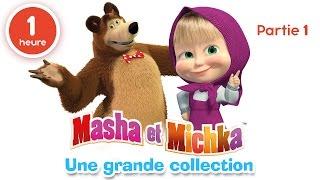 /masha et michka une grande collection de dessins animes partie 1 60 min pour enfants en franais