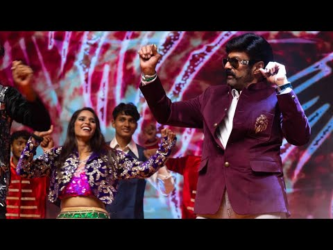 Balakrishna performances dance at launch ceremony of 'Unstoppable'