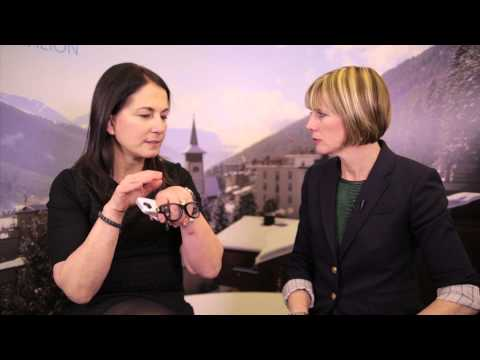 WEF Davos 2014 Hub Culture Interview with Amy Rosen