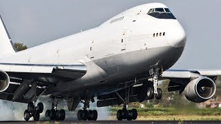 BOEING 747 LOSING FUEL during DEPARTURE - B747 Classic
