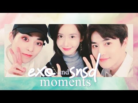 EXO AND Girl's Generation MOMENTS