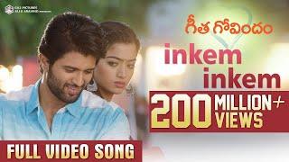 Inkem Inkem Full Video Song   Geetha Govindam   Vijay Deverakonda, Rashmika, Gopi Sunder