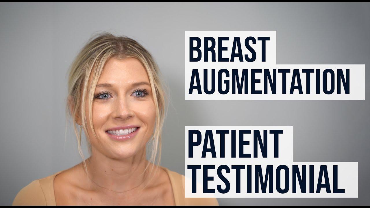 Breast Augmentation - Patient Testimonial -- Dr. Paul Ruff | West End Plastic Surgery