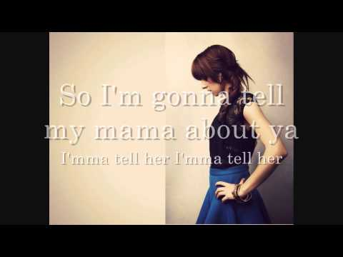 "Christina Grimmie ""Tell My Mama"" Lyric video HD"
