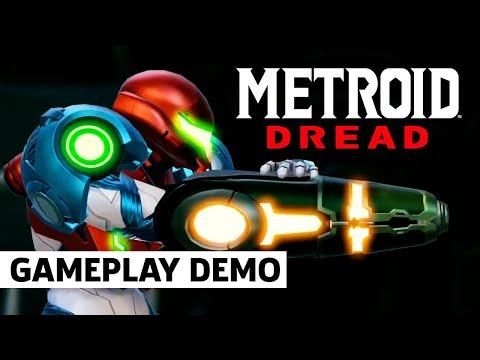 Metroid Dread Gameplay Presentation   Nintendo Treehouse E3 2021