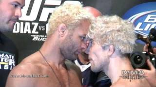 UFC 143: Mike Pierce Weigh-In