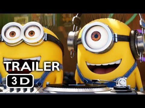 Despicable Me 3 Trailer #3 in 3D 2017 #YT3D ENG