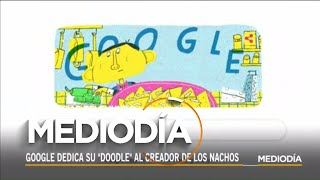 El Google Doodle hoy honra al creador de los famosos nachos | Noticias Telemundo