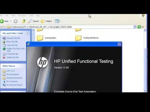 Video: How to install QTP (UFT 11.5)