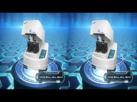 Retsch - Nano Ball Mill Emax S3D (yt3D) by Stefan D. Voigt