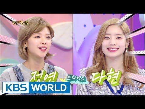 Hello Counselor - Boom, Jeongyeon, Dahyun [ENG/THA/2017.06.12]