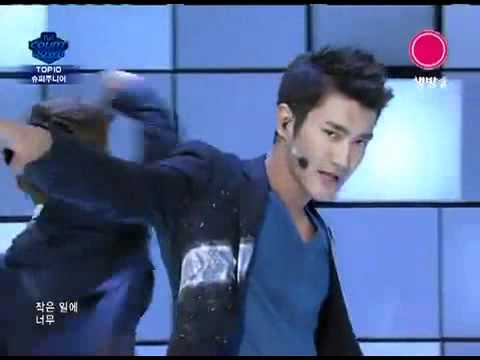 110811 super junior - Superman+Mr.Simple+得獎感言