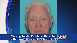 Silver Alert Issued For Missing North Richland Hills Man