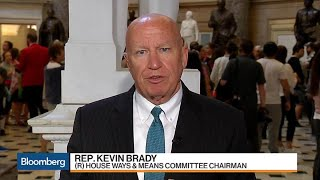 Rep. Brady Says Tax Framework Is 'What It Needs to Be'