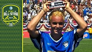 Landon Donovan's 4 goals highlight the 2001 MLS All-Star Game | The Vault