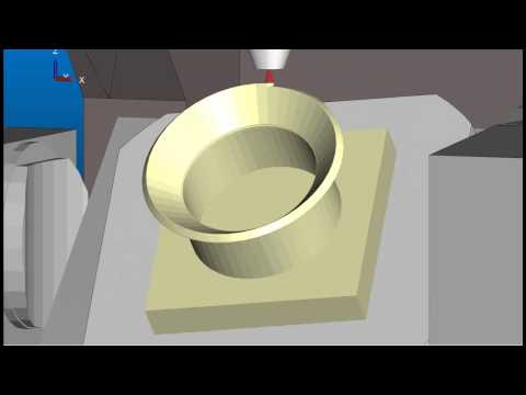 MachineWorks Simulation Software showing Additive & Subtractive Manufacturing